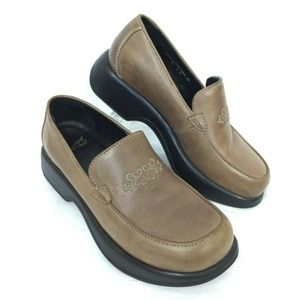 Dansko Embroidered Loafers 39 / 8.5 - 9 Brown